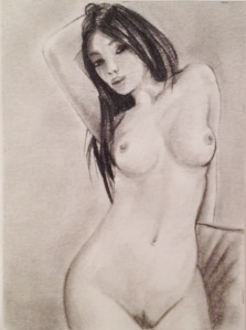 female nude 5 by Gary Rudisill