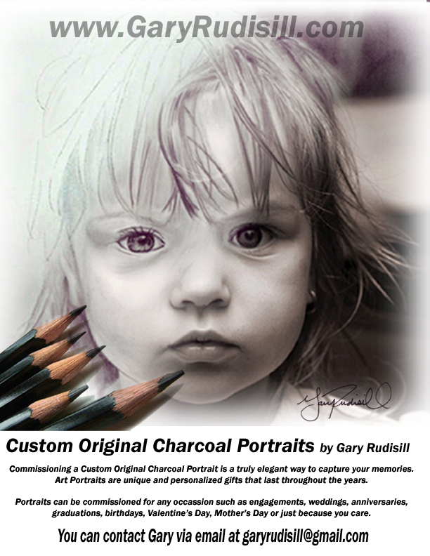 Portrait Ad Gifts by Gary Rudisill