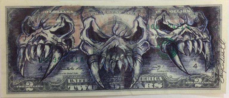 Unholy Trinity by Gary Rudisill